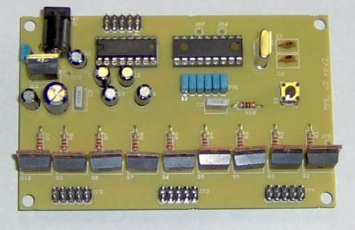 MoMolight hardware including micro-controller and LED/CCFL power drivers